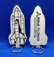NASA Space Shuttle Launch Contractor Key Ring